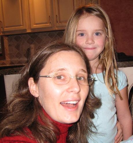 Aunt Jeni with Audrey