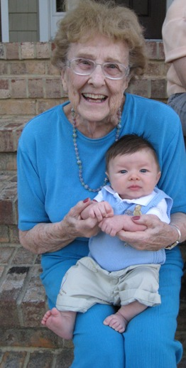 Granma Q and Henry
