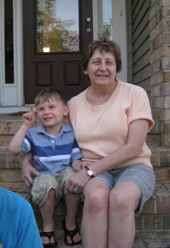 Jonah and Granma Jo