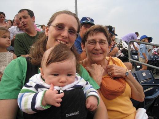 Jeni, Mom and Henry