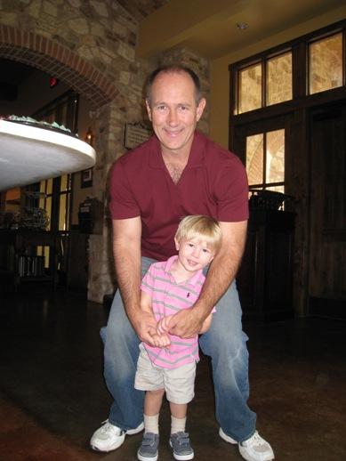 Scott with Evan