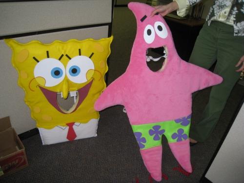 SpongeBob and Patrick costumes