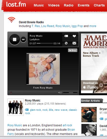 I LOVE ROXY MUSIC!