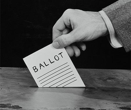 Cast your ballot!
