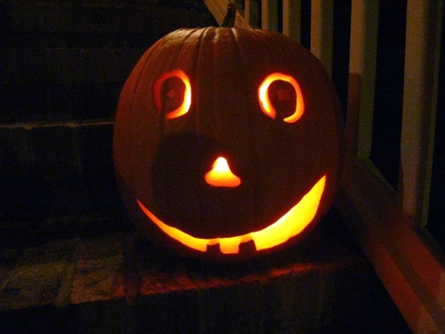 Dave's happy pumpkin