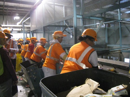 Labor-intensive sorting