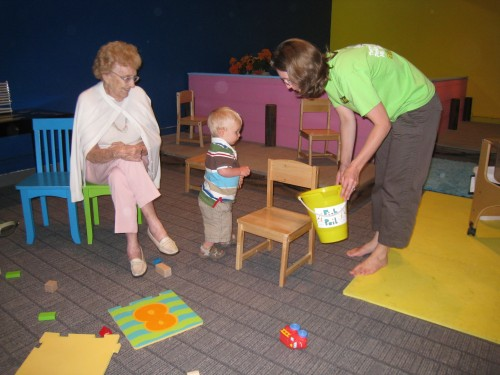 Museum play area