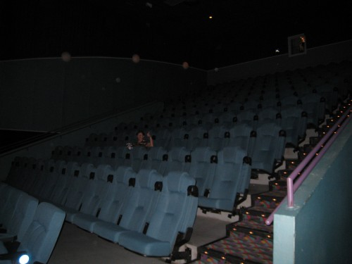 Alone in the Theatre