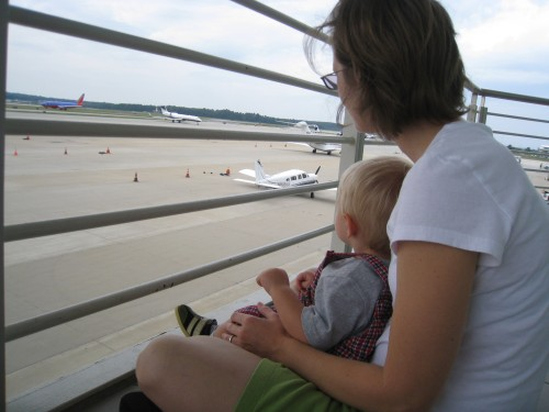 Watching planes