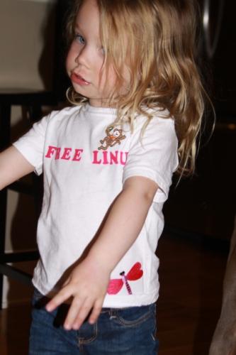 Zoe\'s shirt