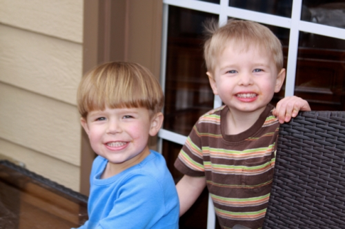 Hudson & Henry, best friends