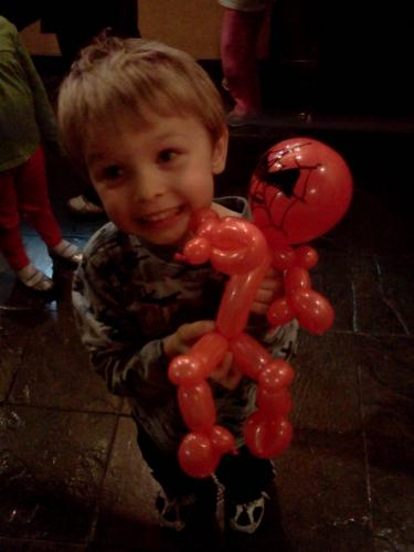 Balloon Spidey