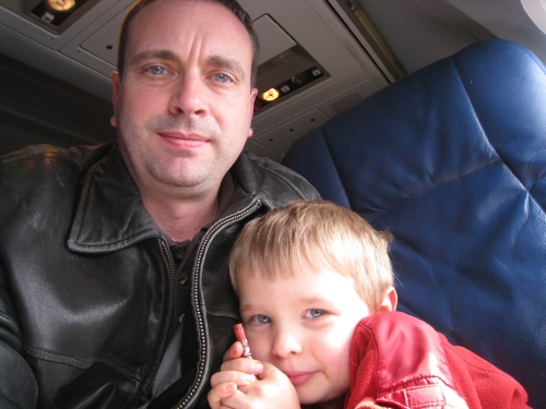 Flying with Daddy