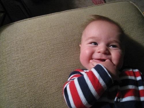 Smiling Linus