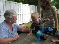 Falling for Granma Sue